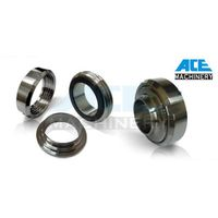 Stainless Steel CNC Machined Sanitary Grade Union