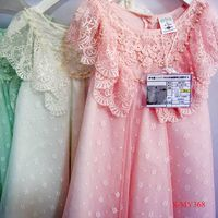 Fantastic spaghetti Strap petite kids girl dresses dress fashion for children