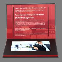 "best price lcd video brochure with 10.1"" screen"