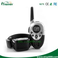 1000M electronic dog training shock collar anti bark collar with Led display