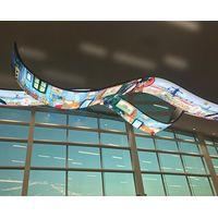 FC Series FC 2.5/4 Flexible LED Display Flexible shape LED Poster china Flexible LED Display thumbnail image