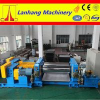 top sales and low price two rolls plastic machine