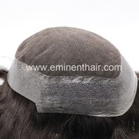 Remy Human Hair Natural Soft Hair Replacement