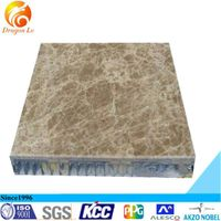 Building curtain wall stone aluminum honey comb panel