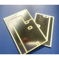 Alumina (AL2o3) ceramic substrates with Au plating