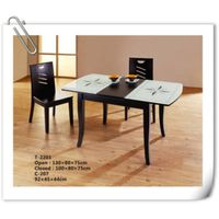 rubber wood Dining Table and Chair