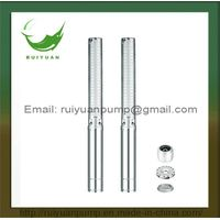 4 Inches 2.2KW 3HP Stainless Steel Copper Wire Deep Well Submersible Water Pump (4SP5/25-2.2KW)
