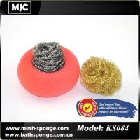 kitchen sponge stainless steel cleaning ball thumbnail image
