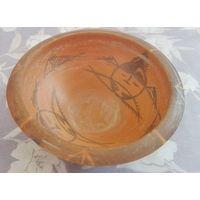 Fish pattern Pottery plate
