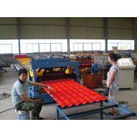 Aluminium Metcoppo Step Tile Roofing Sheet Corrugating Machine thumbnail image