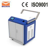 100W 200W Raycu IPG fiber laser metal cleaning machine rust clean