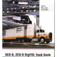 All steel industrial / truck scales of 200-tons max. capacity thumbnail image