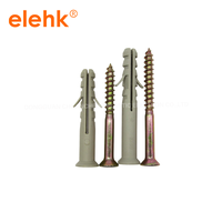Free Samples Plastic Expansion Anchor And Plastic Screw Wall Plug thumbnail image