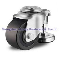 Business Machine Casters Hollow Kingpin with Leveling Glide