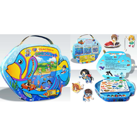 Fishing Game - fish-shaped magnetic box