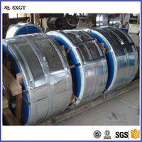 Hot dip zinc coating 40-275g galvanized steel strips /steel coil