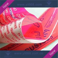 VOID tamper evident sticker