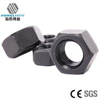 Carbon Steel Hex Nuts Grade 8 Heavy Hex Nuts