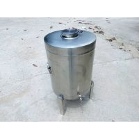 Stainless steel chemical milk container 50L