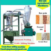 Automatically Feeding Flour Milling Machinery Flour Mill