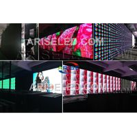 P3.91 P4.81 indoor hub75 full color led display module for fixed and rental with front service and h