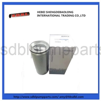 concrete pump filter element