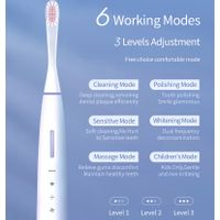 Wireless Charging Electric Sonic Toothbrush TCB1