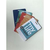 Custom printing pvc paper card gift membership playing card