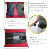 medical breathable waist/lumbar support