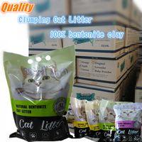 Clumping bentonite cat litter / cat sand 5L 10L