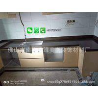 Foshan Weimeisi Derco kitchen furniture white carrara marble countertop