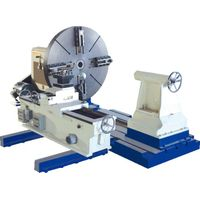 Heavy Duty Turning Flange Lathe Machine 2400mm / Floor Lathe