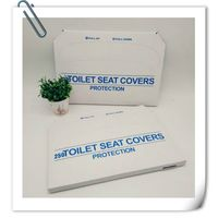 EOC-friendly  flushable paper toilet seat cover