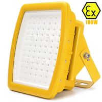 Atex explosion-proof led flood light 100W UL844 class I division 2 100W explosion proof led lighting