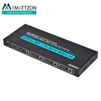 Mattzon 4k 4 ports HDMI KVM 4x1 Switcher HDCP1.4