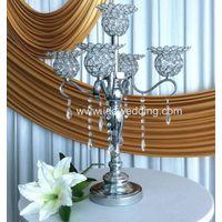 wedding venue decoration crystal lamp wedding candelabra centerpieces