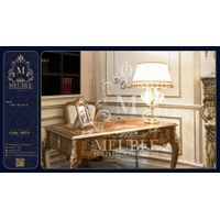 French Style Office Furniture with Brass