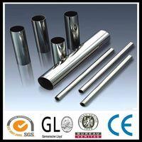 2B BA Sand blast Hairline Mirror 304 stainless steel hollow bar