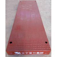 Road decking panel