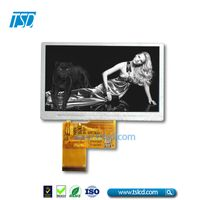 TSD TSLCD 4.3 inch tft lcd moudle with touch