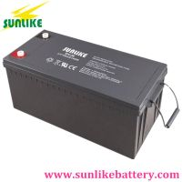 Solar Gel Battery 12V200ah Power Battery for Energy Storage