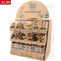 Kids Students Children Intelligent Educational Kits 3D Wooden Bamboo Puzzle Game Toy thumbnail image