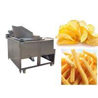 Rotary potato chips frying machine thumbnail image