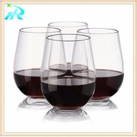 20 OZ Cheap disposable Melanine glasses drinkware plastic wine champagne glass