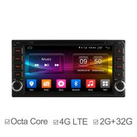 Octa Core Android 6.0 2 din Car GPS for Toyota universal