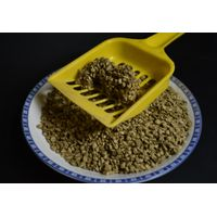 nature herbal cat litter with flushable