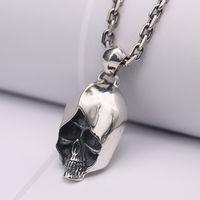 S925 Silver Men's Necklace Pendant P5316 thumbnail image