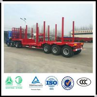 Sinotruk timber trailer wood trailer log trailer
