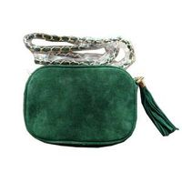 Real leather suede chain tassel bag lady handbags thumbnail image