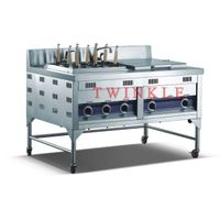 Commercial Gas Noodle Cooker With Bain Marie (HNB-13G) thumbnail image